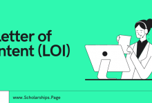 Scholarship Letter of Intent (LOI) Samples and Format Guidance