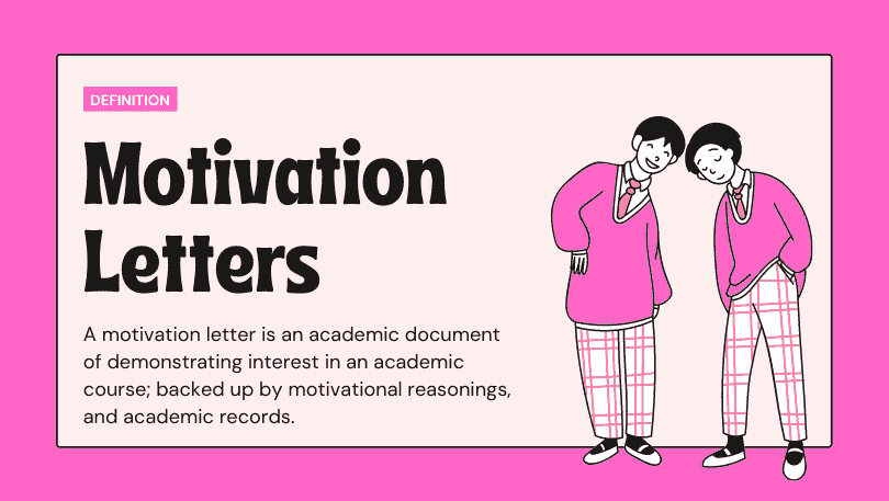 Stunning Motivation Letter for Scholarship Applications with Sample