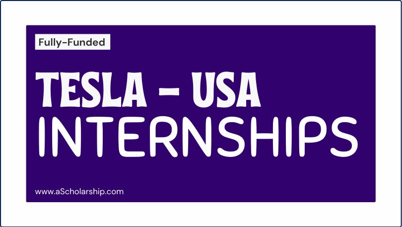 Elon Musk's Tesla Internships 2021-2022 for Students Tesla Career Opportunities