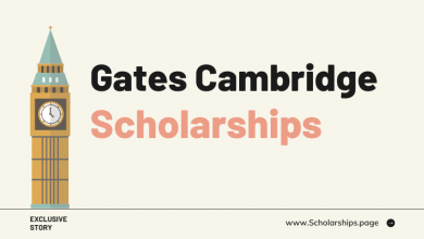Fully-funded Gates Cambridge Scholarships for Students
