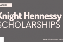 Apply for Knight Hennessy Scholarships at Stanford University Online Applications Portal