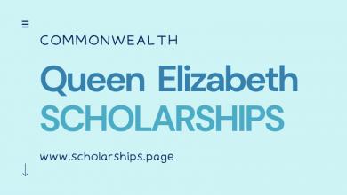 Commonwealth Queen Elizabeth Scholarships (QECS) - Open for Online Applications