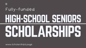 Scholarships for High School Seniors (HS)